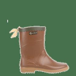 Bison園藝鞋款,膠靴與皮革配飾結合