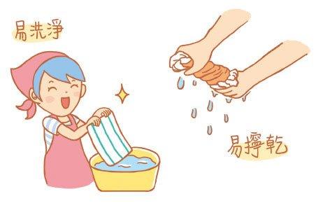 易清洗且擰乾超好擰的!  擰拖把的時候小媽咪很優雅 笑哈哈~
